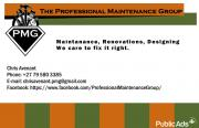 Handyman, Maintenance, Renovations and Designing