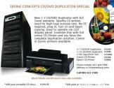 New CD/DVD Duplicator Units