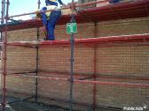 Scaffolding training onsite