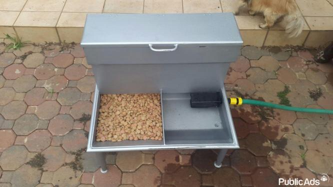 2 in 1 Self feeders for dogs, goats, sheep, pigs etc.