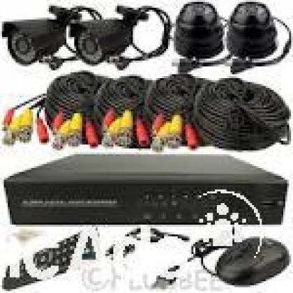 4 channel cctv kit with  3 g internet viewing