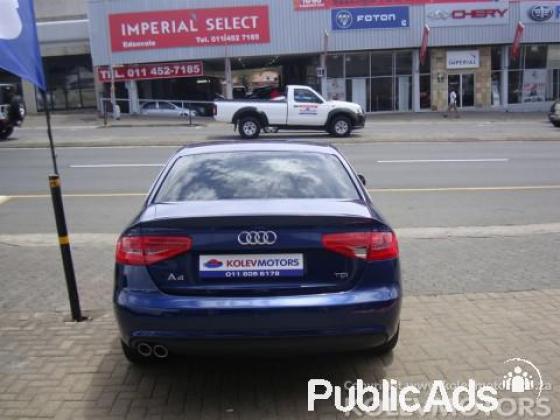 Audi A4 2.0 TDi S 105kW