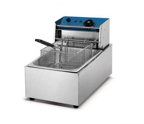 Brand New Single Tank & Single Basket Electric Chips Fryer 5L