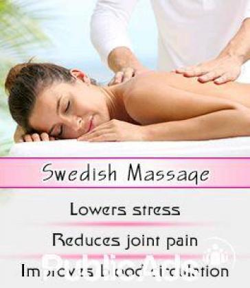 Ladies Only Swedish Massage Therapy Special