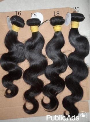 Latex waist trainer and brazilian hair
