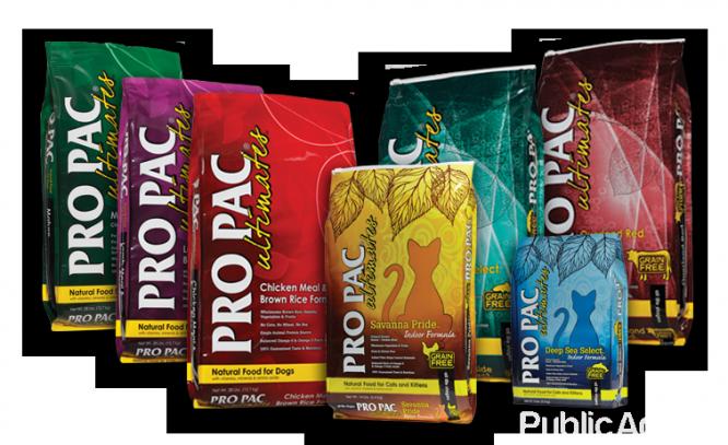 Pro Pac Super Premium Dog & Cat Food