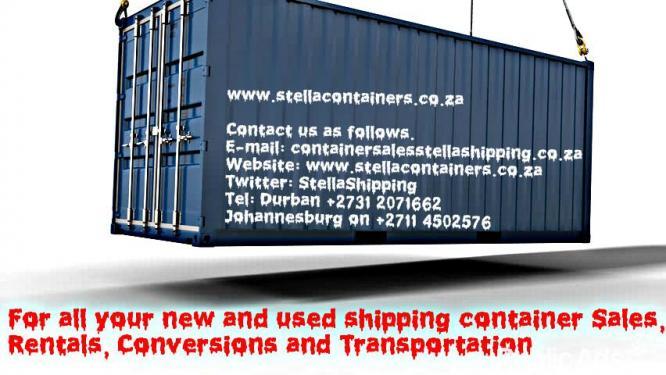 Stella Shipping (PTY) LTD AKA Stella Containers