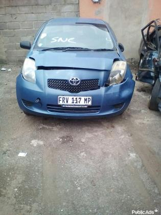 TOYOTA YARIS T3 SPARE PARTS & ACCESSORIES in Southern Suburbs, Gauteng