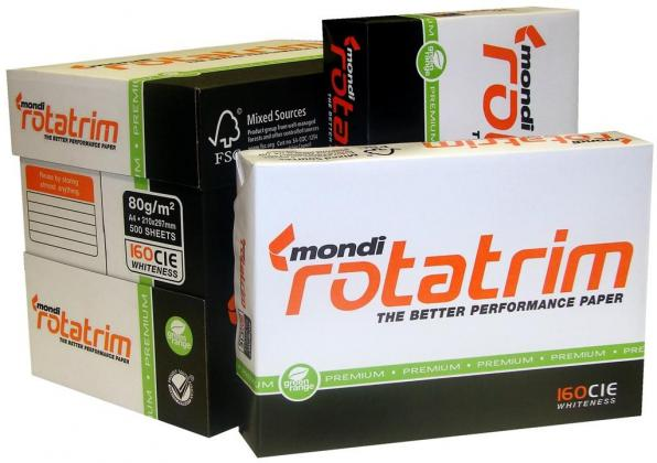 Typek, Mondi rotatrim A4 bond Copy Paper For Sale