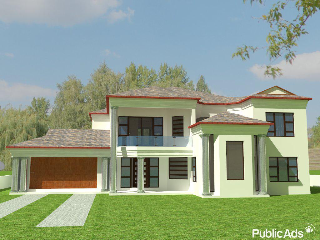 Building house plans and landscape designs soweto for Landscape house plan