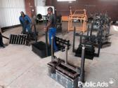 Block and brick making machines
