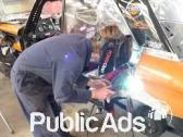 Rope shovel, Panel beater, welding course training