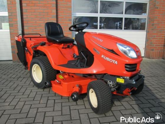 21 HP Kubota mower