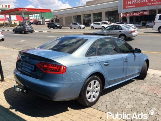 Audi A4 2.0T ambition multitronic
