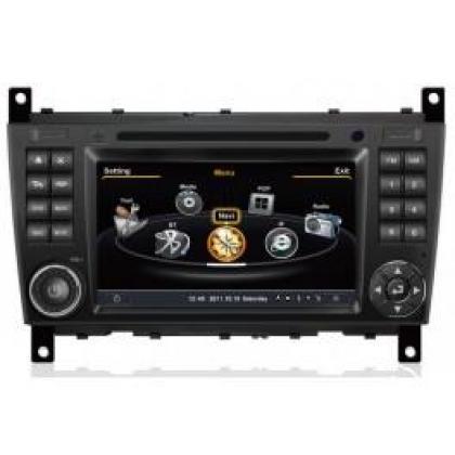 CAR DVD GPS Mercedes-Benz C-Class