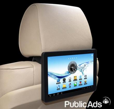 Car Seatback Android Entertainment system