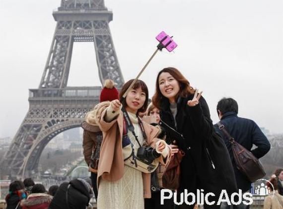 Selfie Sticks Monopod Extendable 100cm