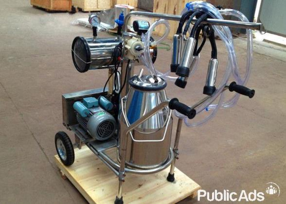 Electric Piston Milking Machine for Cows Single Tank+ EXTRAS