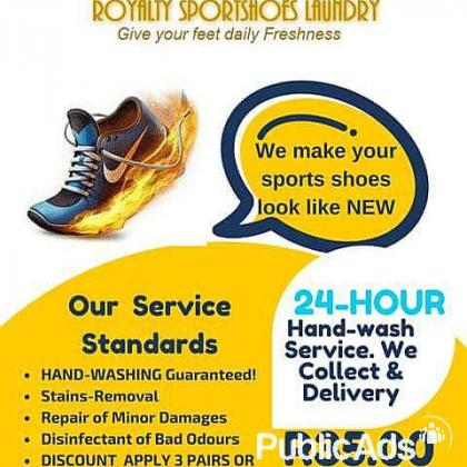 ROYALTY SPORTSHOES LAUNDRY