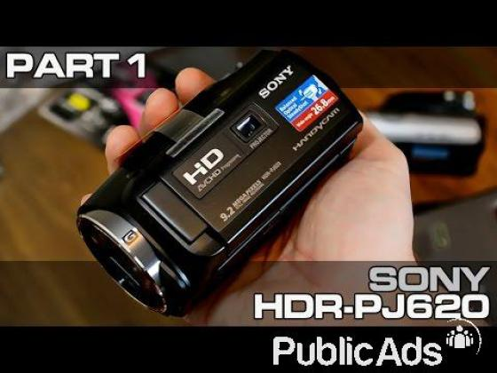 Sony HDR-PJ620 HD Handycam with Built-In Projector and 32GB Internal Memory (PAL)
