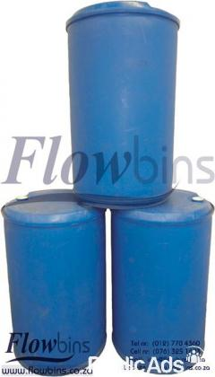 210l Litre Plastic Tanks /Drums /Container: Water,Diesel,Oil,Chemicals storage, Fish/koi pond filter
