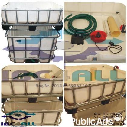 Aquaponics system / Organic garden / Aquaponic Fish Tank Growbed