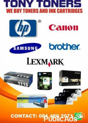 we pay cash over stocked ink cartridges and toners