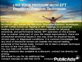 Live Your Freedom with Emotional Freedom Techniques