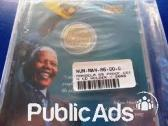 Mandela 2000 Proof R5 coin in sealed CD as issued