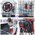 Mobile Diesel Pump, Stoor  & Transport Unit / Bakkie Bowser: 1000l Litre Plastic Tank in Steel Frame