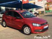Red Volkswagen Polo Gp 1.2 Tsi Trendline (66KW)