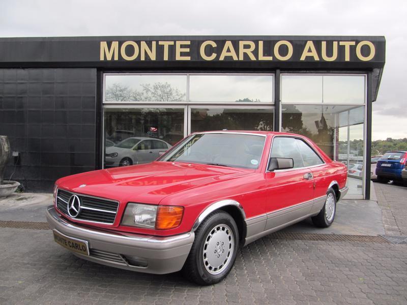 1990 Mercedes Benz 560 SEC Auto
