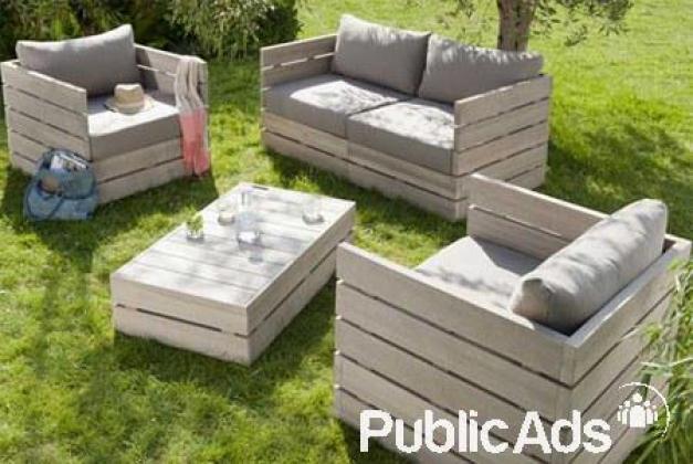 Decks, Furniture, Bars, wood cladding all custom built