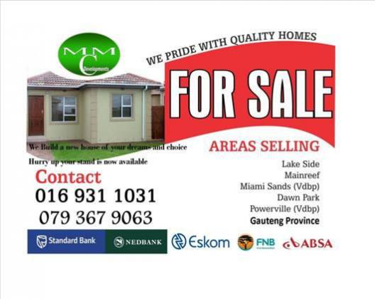BEAUTIFUL HOUSES TO MEET YOUR NEEDS AND DESIRE IN THE VAAL AREA
