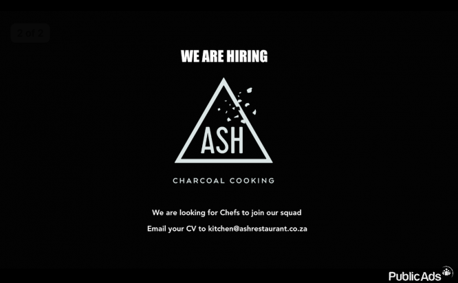 Chefs wanted for new restaurant