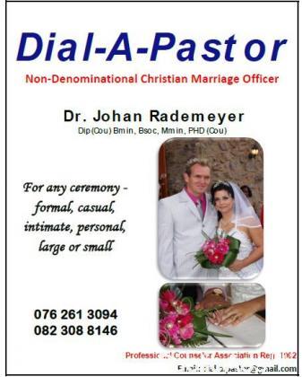 Dial a Pastor