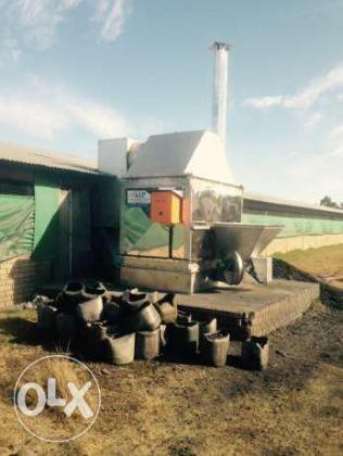 Heatco oonde kuikenhuis,agri tonnel verhitters broiler house heating