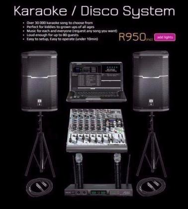 KARAOKE SYSTEM HIRE (Kiddies and Adults)