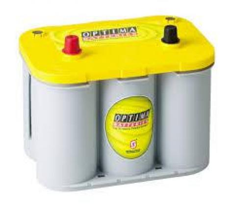 Optima Yellow Top 12v 55ah Car Battery -Maiden Electronics Battery Fitment Centre R4433