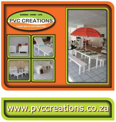 PVC Creations UV Resistant Outdoor Patio Furniture