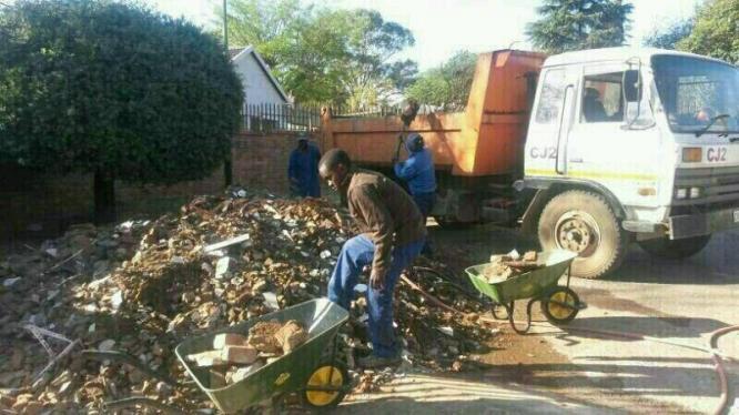 Rubble Removing & Tree Felling