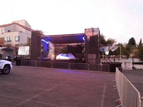 stage and audiovisual hire