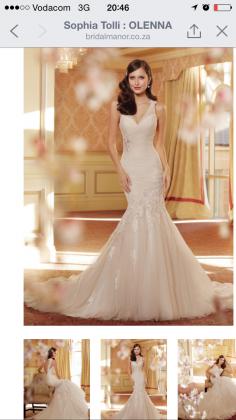 Stunning Sophia Tolli Wedding Dress