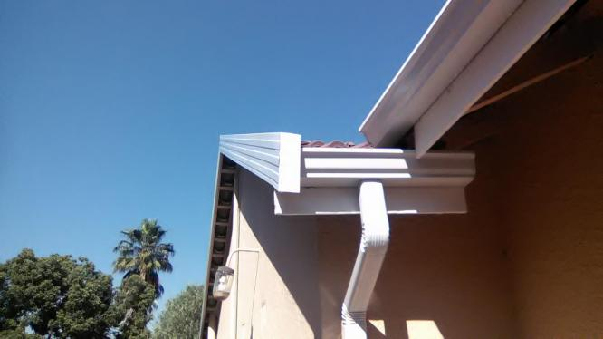 barge boards,gutters and downpipes