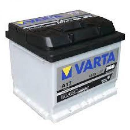 Varta A17 / 618/9 12v 41ah Car Batteries - Maiden Electronics Battery Fitment Centre R1001