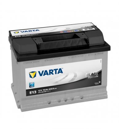 Varta E13 / 652 12v 70ah Car Batteries - Maiden Electronics Battery Fitment Centre R1699