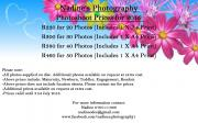 Photo Shoots from R220