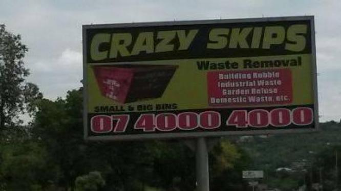 Crazy Skips Waste Removal / Rubble Removal