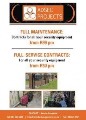 Security installations and maintenace