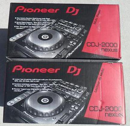 Brand New Sealed Pioneer CDJ-2000nexus Pro Multi-Player